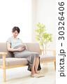 妊婦 妊娠 マタニティの写真 30326406