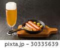 ビール ソーセージ アルコールの写真 30335639