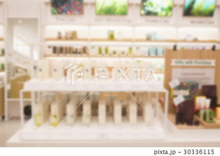 Blur abstract background drugstore with customers.の写真素材 [30336115] - PIXTA