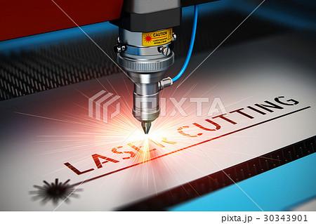 Laser cutting technology 30343901
