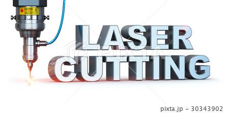 Laser cutting technology 30343902