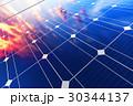ソーラー 太陽 パネルのイラスト 30344137