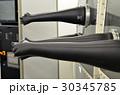 overpressure box in laboratory rubber gloves  30345785