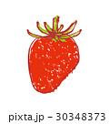 苺 挿し絵 水彩画のイラスト 30348373