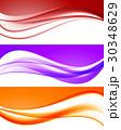 抽象的 コレクション 収蔵物のイラスト 30348629