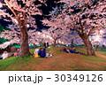 函館・五稜郭公園の夜桜<満開> 30349126