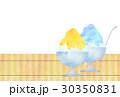 かき氷 氷菓 カキ氷のイラスト 30350831