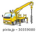 穴掘建柱車(ポールセッター) 30359080