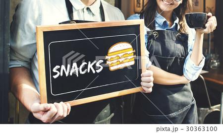 Burger Fast Food Icon Graphic 30363100