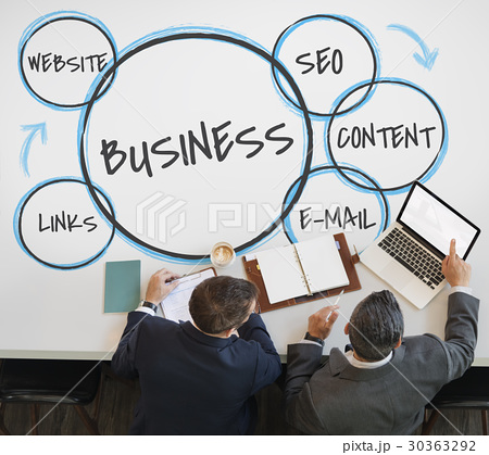 e commerce marketing plan business advertisingの写真素材 30363292