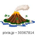 Volcanic island 30367814