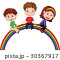 にじ レインボー 虹のイラスト 30367917