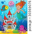 マーメイド マーメード 人魚のイラスト 30369076