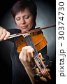 バイオリン ヴァイオリン 女の写真 30374730
