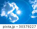 空 青空 雲の写真 30379227