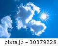 空 青空 雲の写真 30379228