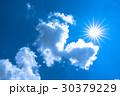 空 青空 雲の写真 30379229