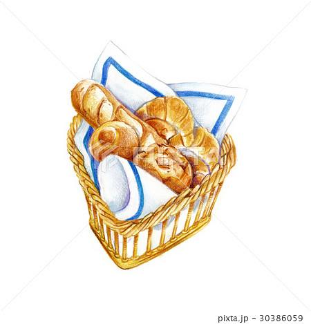 焼きたてのパン 30386059