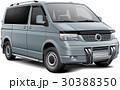 車 自動車 貨車のイラスト 30388350