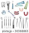 歯医者 歯科医 歯科医師のイラスト 30388863