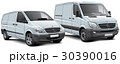 Two light commercial vehicles 30390016