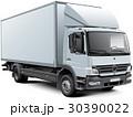 White box truck 30390022