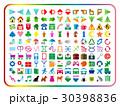アイコンいろいろセット(カラー) 30398836