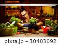 人 植物 お花の写真 30403092