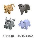 動物 アイソメトリック アイソメのイラスト 30403302