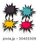 ポップアート カラフル 色とりどりのイラスト 30403309