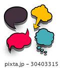 ポップアート カラフル 色とりどりのイラスト 30403315