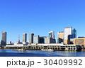 都市風景 築地市場 冬の写真 30409992