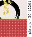 紅葉 和柄 和のイラスト 30412291