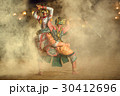 Khon Thai The fighting Hanuman with kumarakorn  30412696