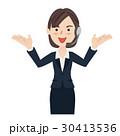 女性 ビジネスウーマン カスタマーサポートのイラスト 30413536