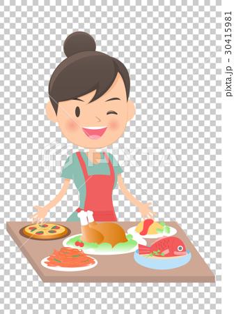 主婦 家庭主婦 中式料理 30415981