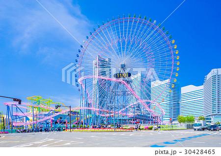 神奈川 横浜みなとみらいの風景 30428465