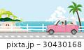 夏 ドライブ 親子のイラスト 30430168