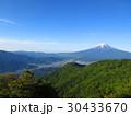 初夏の三ッ峠からの富士山Mt.Fuji from Mitsutouge early summer 30433670