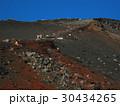 富士山吉田口登山道九合目付近Mt.Fuji Yoshida trail near 9th St   30434265