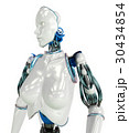 ロボット ヒューマノイド 女性のイラスト 30434854
