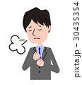スーツ 男性 溜息 30435354