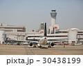 飛行機 羽田空港 旅客機の写真 30438199