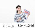 女性 国旗 イギリス 30441246