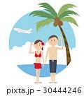水着 夏 旅行のイラスト 30444246