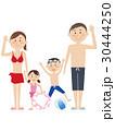 水着 海水浴 夏のイラスト 30444250