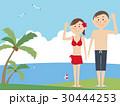 水着 海水浴 夏のイラスト 30444253