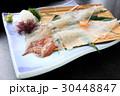 イカの活き作り 活き作り イカの写真 30448847