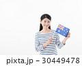 女性 国旗 オーストラリア 30449478