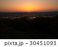 となみ夢の平展望台から見る散居村風景 30451093